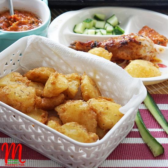 Potarita potato chunks