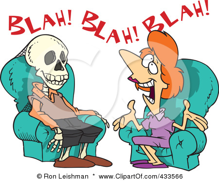 Image result for cartoon talking too much  pics