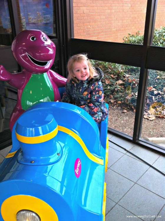 Emily on a ride