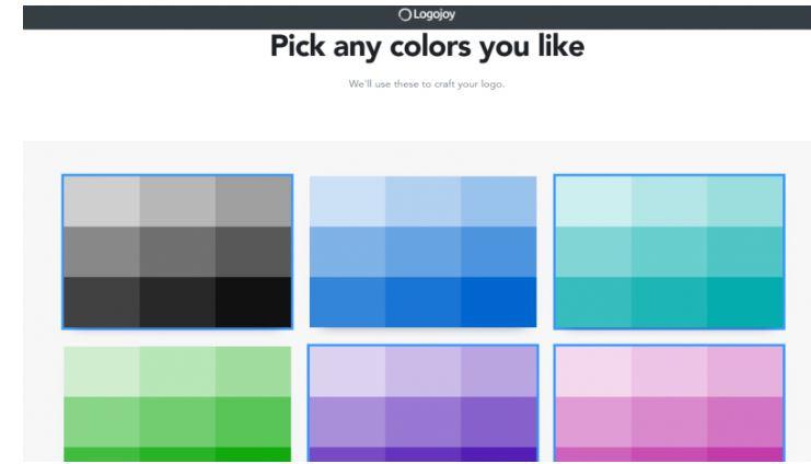 Logjoy colours