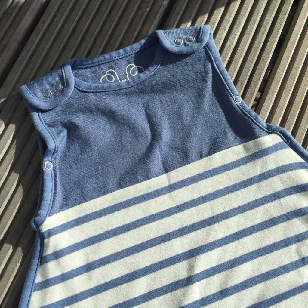 Antipodes Merino sleep bag review by Mummy to Dex. A gorgeous and luxurious sleep bag made from merino wool that will keep baby cool in the summer.
