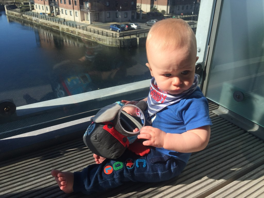 Our review of the 'My First Thomas Activity Plush', a gorgeous toy which has plenty to see and do for babies from 0 months and beyond.