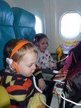 Their first flight!