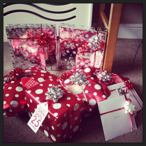 Festive wrappings - 2013