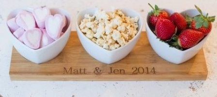 *Prize draw* Personalised Valentines Heart Bowl Set