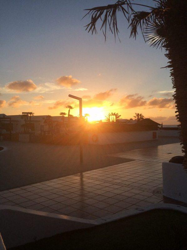 Lanzarote Sunrise