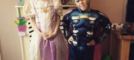 World Book day with George at Asda