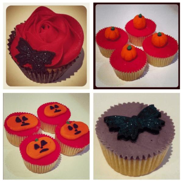 Halloween themed cupcakes