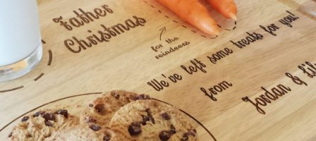 *Prize Draw* Personalised Father Christmas treat board