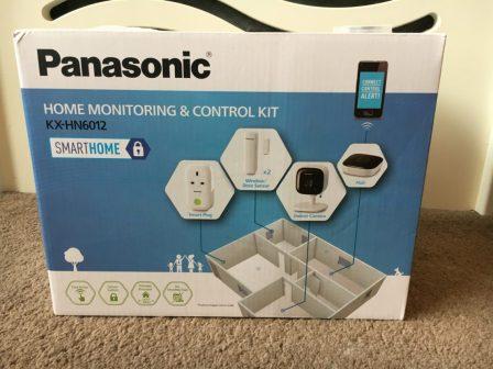 *Review* Panasonic Home Monitoring & Control Kit