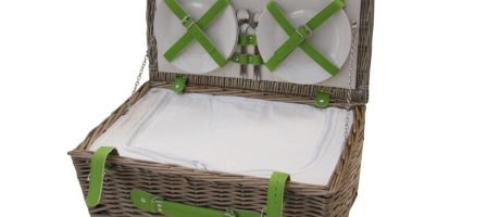 *Prize Draw* Antique Wash Wicker Picnic Basket