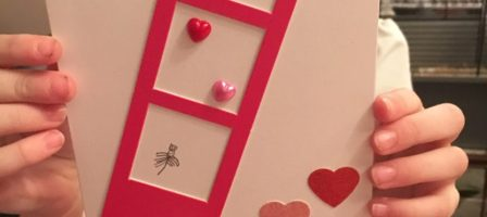 Valentine's craft with Bostik