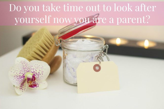 Taking time out now you are a parent