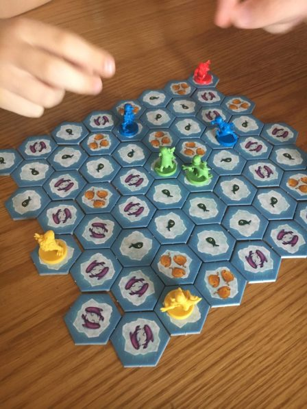 *Review* Hey, that's my fish! board game