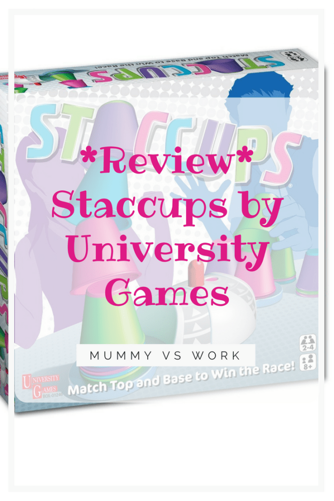 *Review* Staccups by University Games
