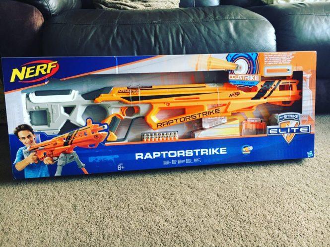 *Review* Nerf N-Strike Elite AccuStrike RaptorStrike Blaster