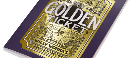 *Prize Draw* My Golden Ticket book from Wonderbly