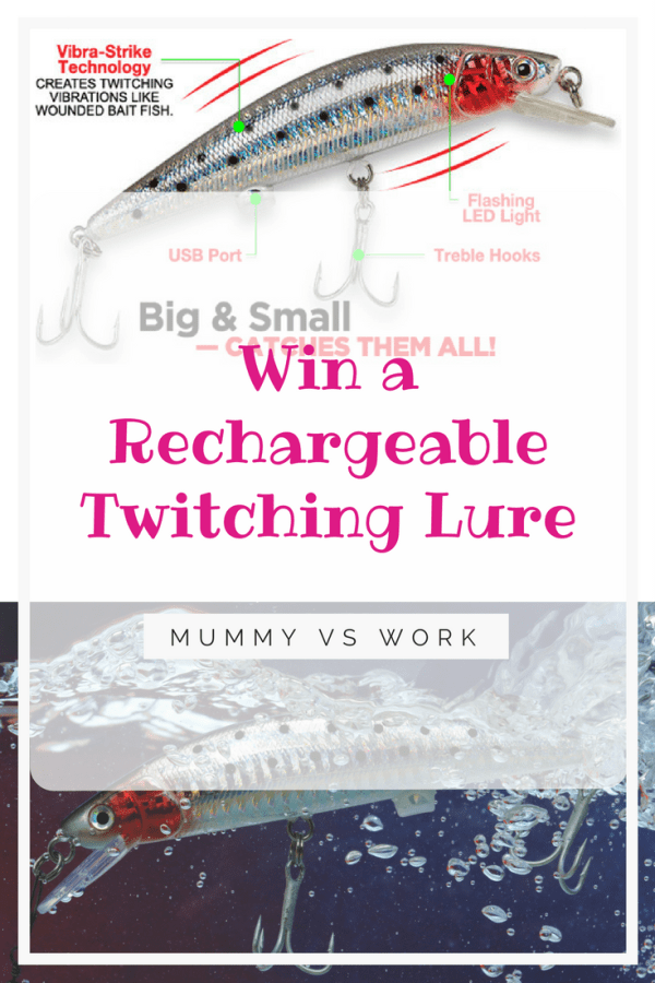 Win Rechargeable Twitching Lure