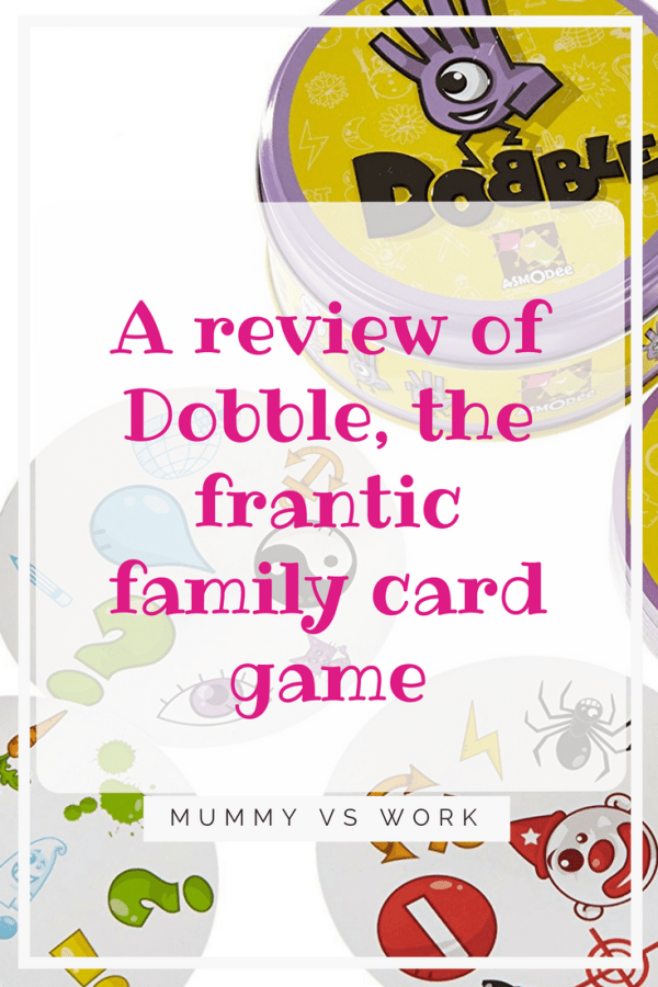 Dobble, the frantic family card game