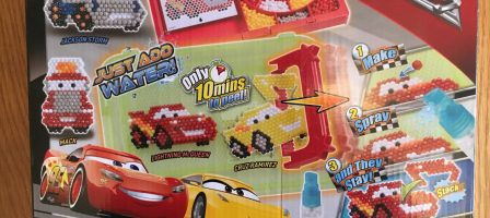 *Review*Aquabeads Cars 3 Playset