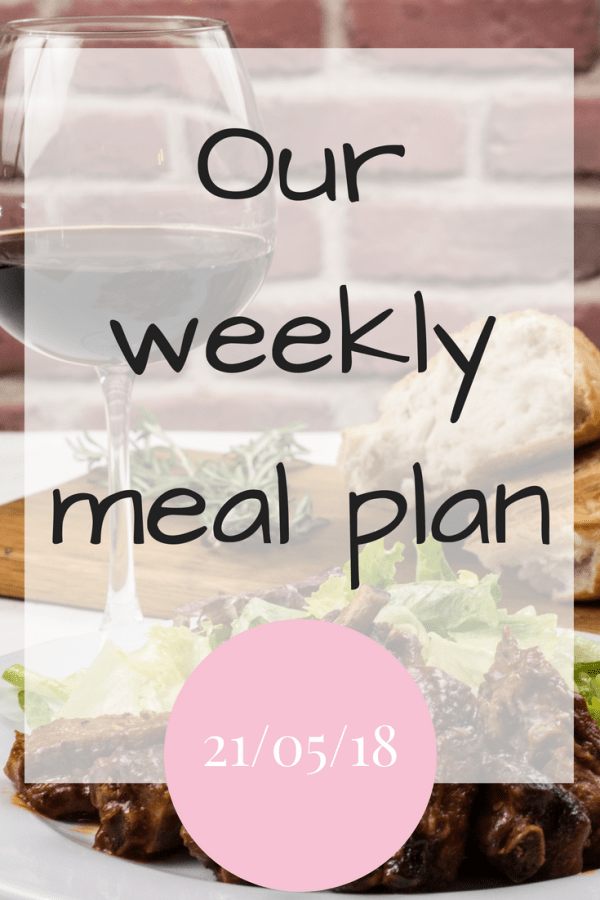 Our family meal plans
