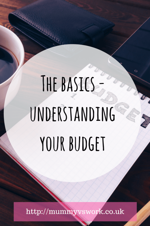 The basics - understanding your budget