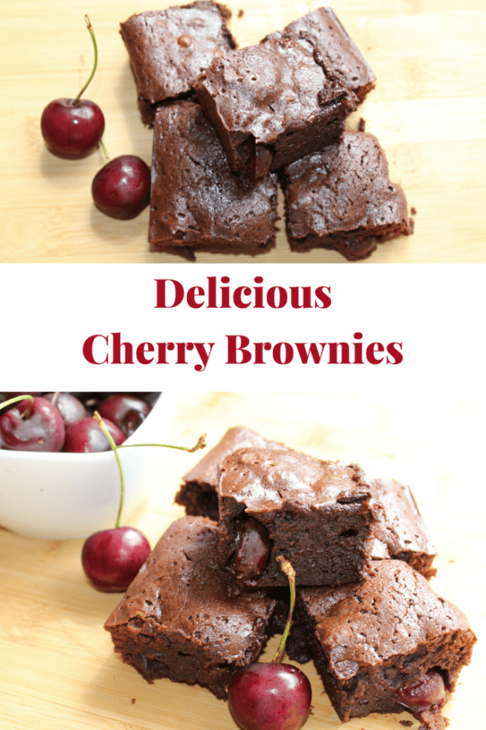 Delicious Cherry Brownies
