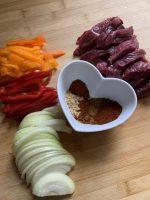 Easy beef fajitas, a quick midweek dinner