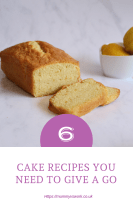 Foodie Friday – 6 cake recipes you need to give a go