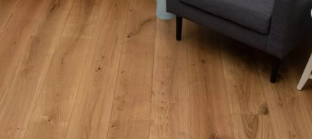 Matching your wood flooring with your kitchen cabinets