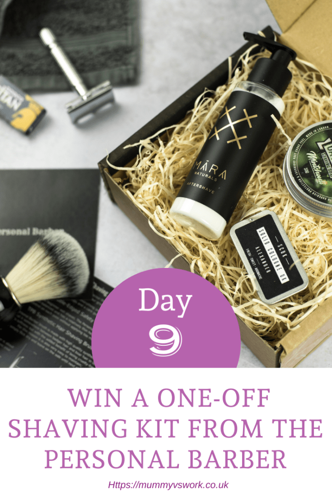Day 9 - Win a one-off shaving kit from The Personal Barber