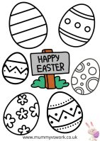 Free Easter printables for you to enjoy