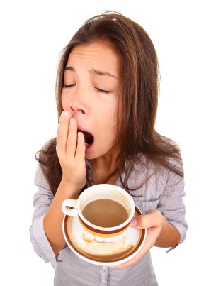 Exhaustion Tip: Caffiene and panic attacks