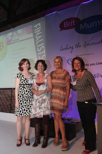 Inspire winner of Britmums Live