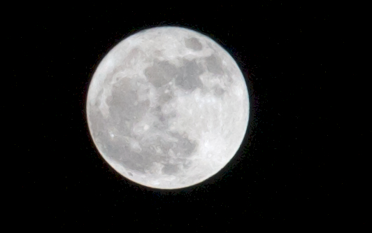 Can't sleep during full moon
