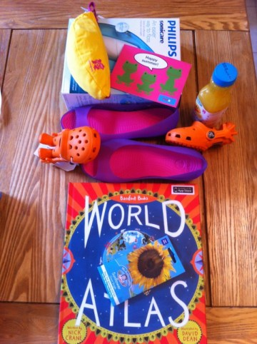 Presents for winners of Britmums Live