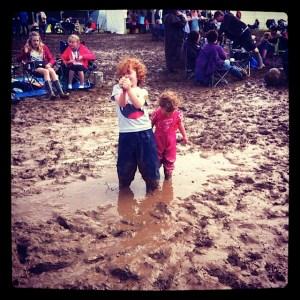Kids love muddy festivals