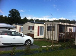 Siblu mobile home with verandah