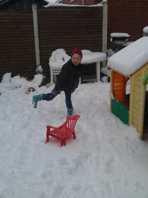 snow at easter