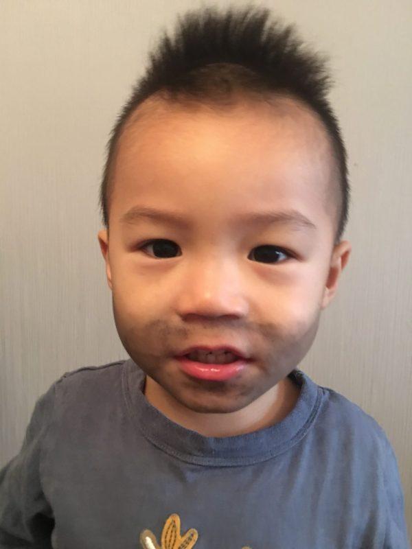 toddler mugshot for halloween