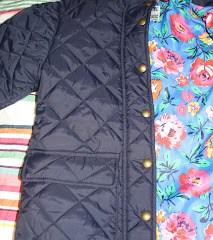 What she wore – New posh coat