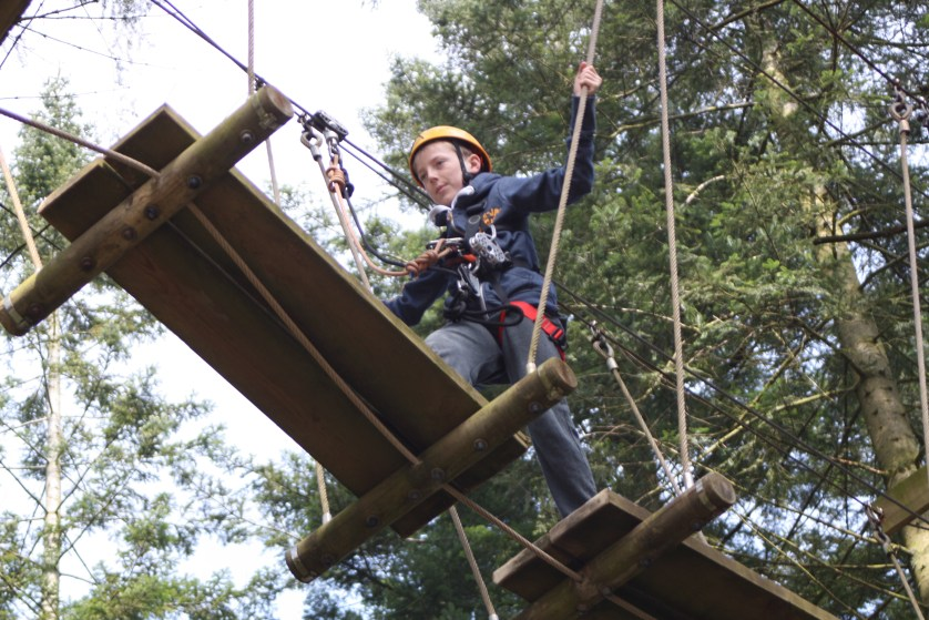 Aerial adventure, Tree trekking, Center Parcs, Holiday, 365