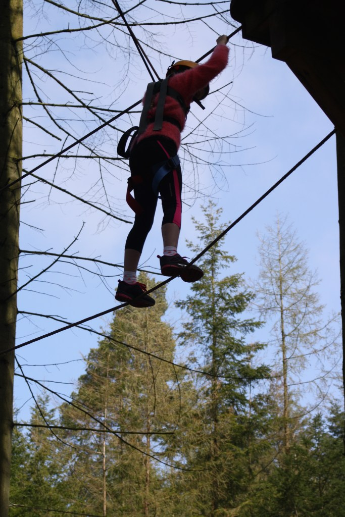 Daughter, Aerial Adventure, Center Parcs, Loud 'n' Proud