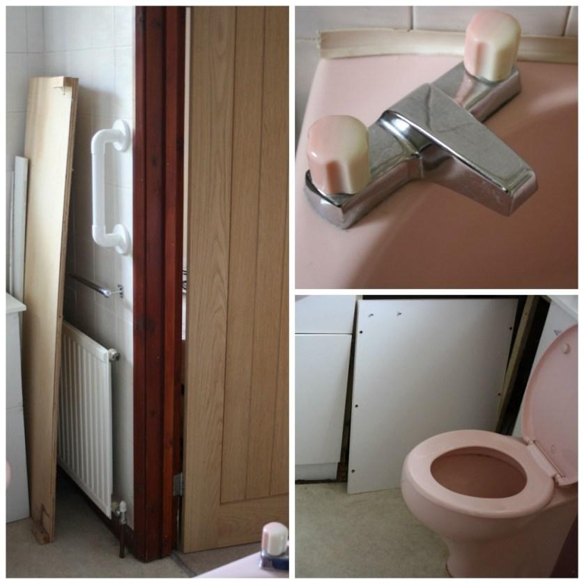 PicMonkey ensuite3Collage, Bathroom, Ensuite bathroom, Old bathroom