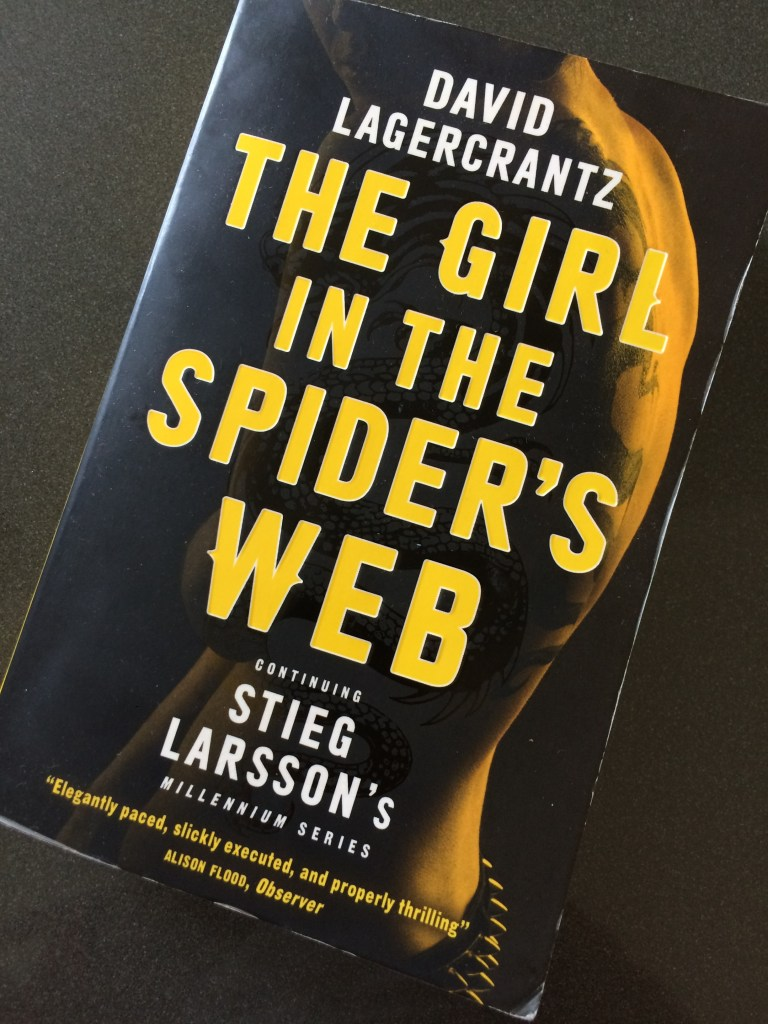The Girl in the Spider's Web, David Lagercrantz, Book review, Millennium trilogy