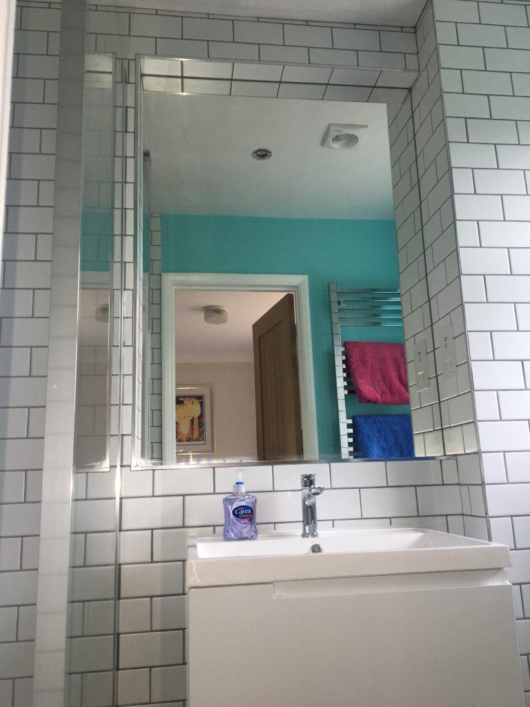 New bathroom, The new ensuite bathroom, Ensuite, Mirror