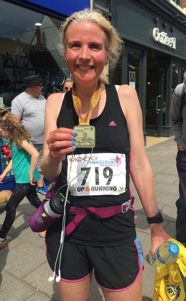 Tewkesbury half marathon, Medal, Half marathon, Runner, Running