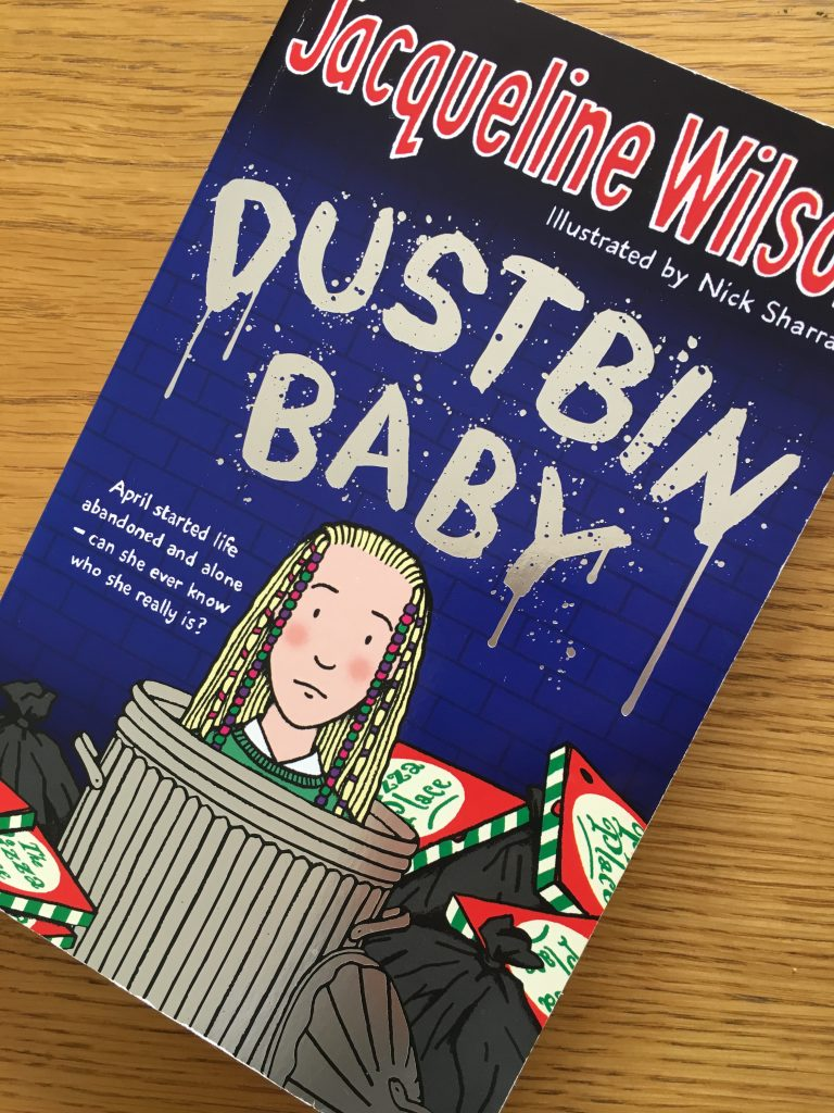 Dustbin Baby, Jacqueline Wilson, Dustbin Baby review, Jacqueline Wilson for older readers