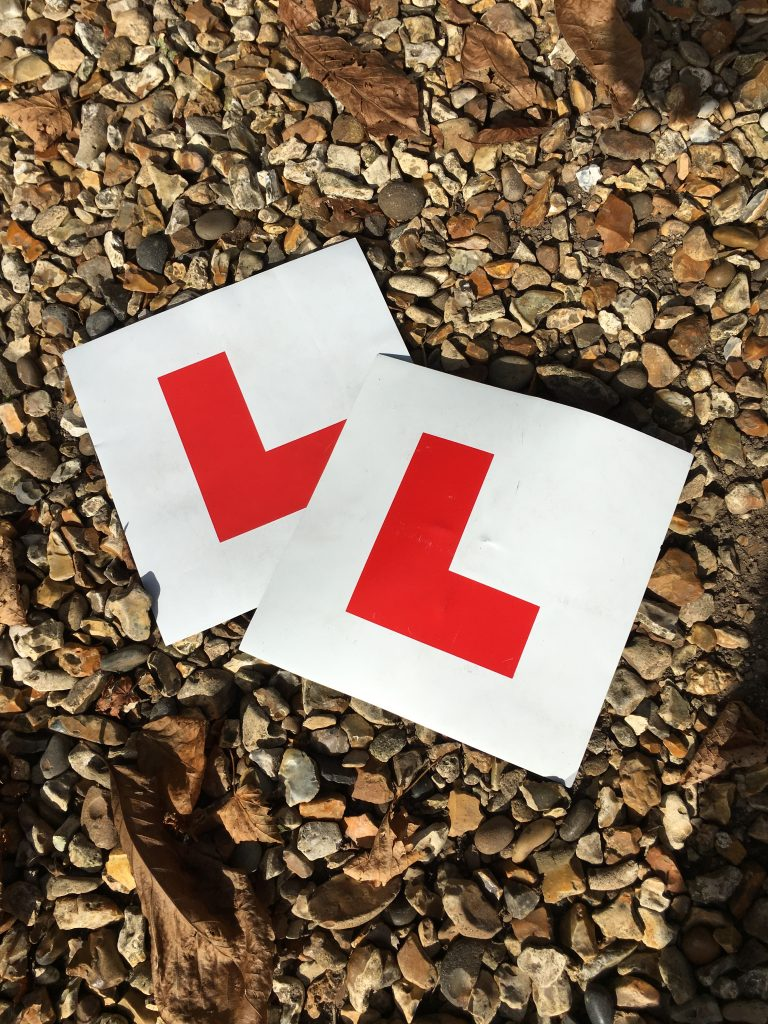 L plates, Learner driver, Driving test, 365