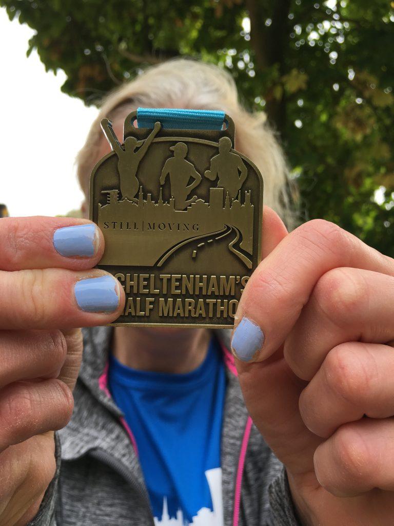 Cheltenham half marathon, Medal, Silent Sunday, My Sunday Photo